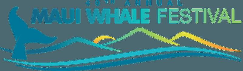 40th annual Maui Whale Festival logo