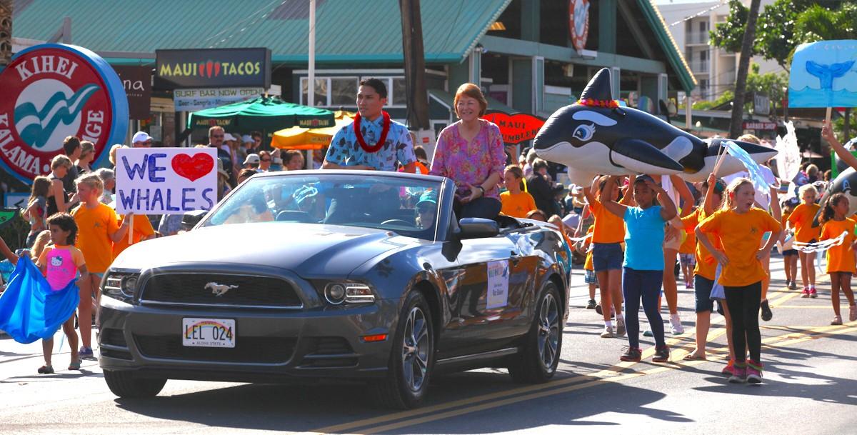 Maui Whale Festival parade